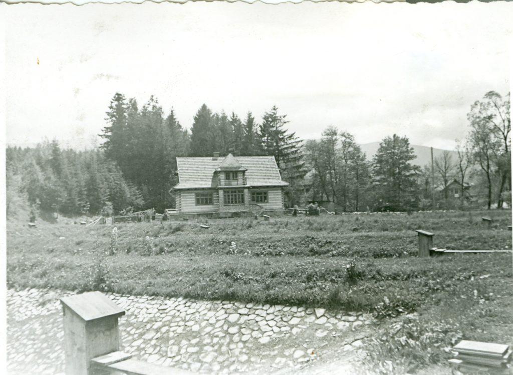 Pierwsza hodowla pstrąga w Zawoi